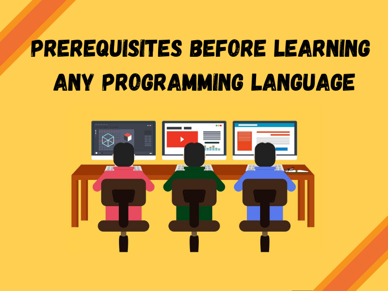 Prerequisites before learning any programming language
